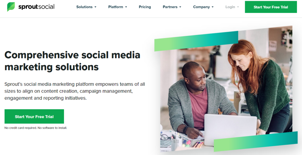 Sprout Social - Social Media Marketing Tool