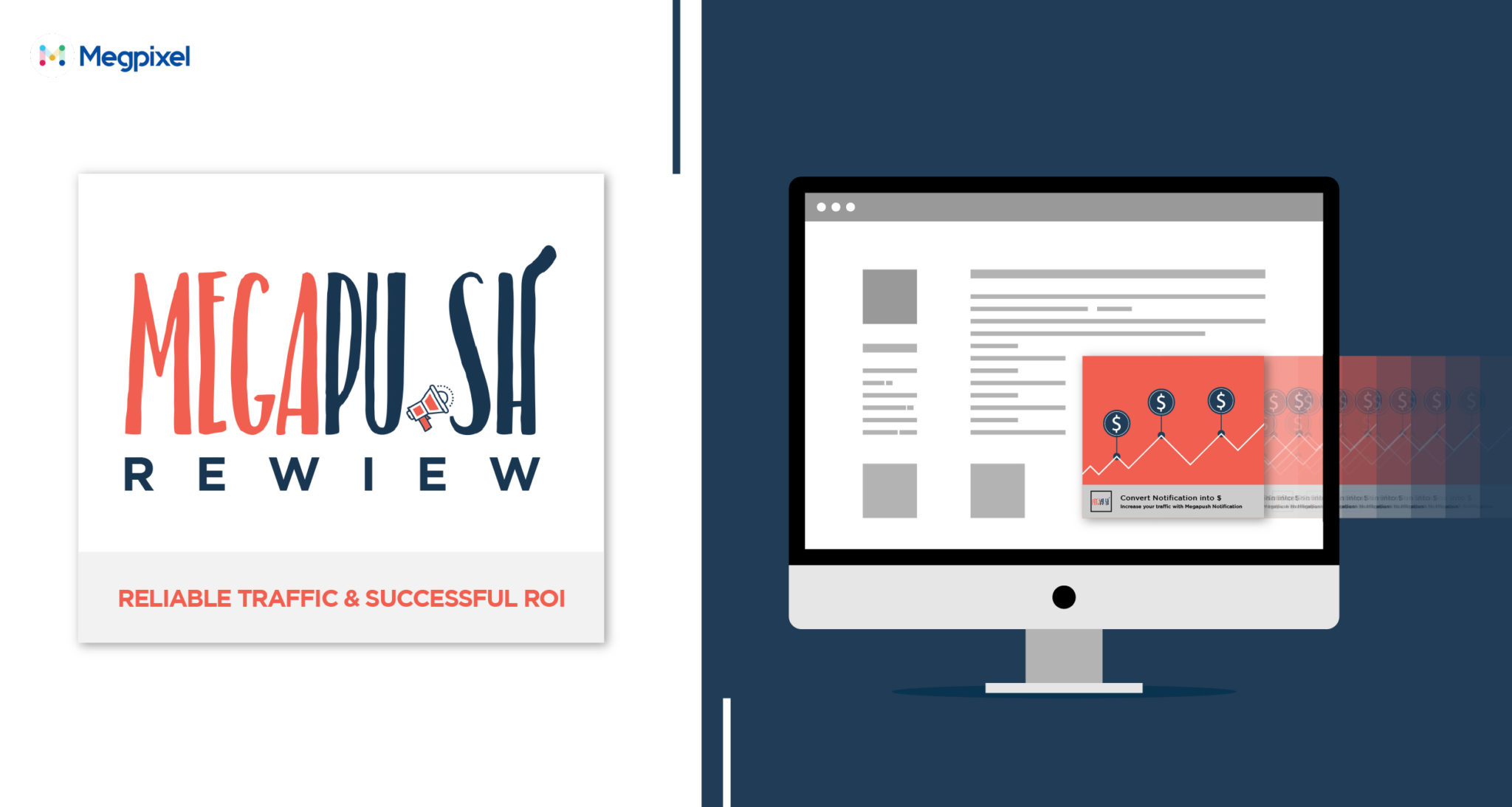 MegaPush Review 2019 + Promo Code - Reliable Push Traffic & Successful ROI