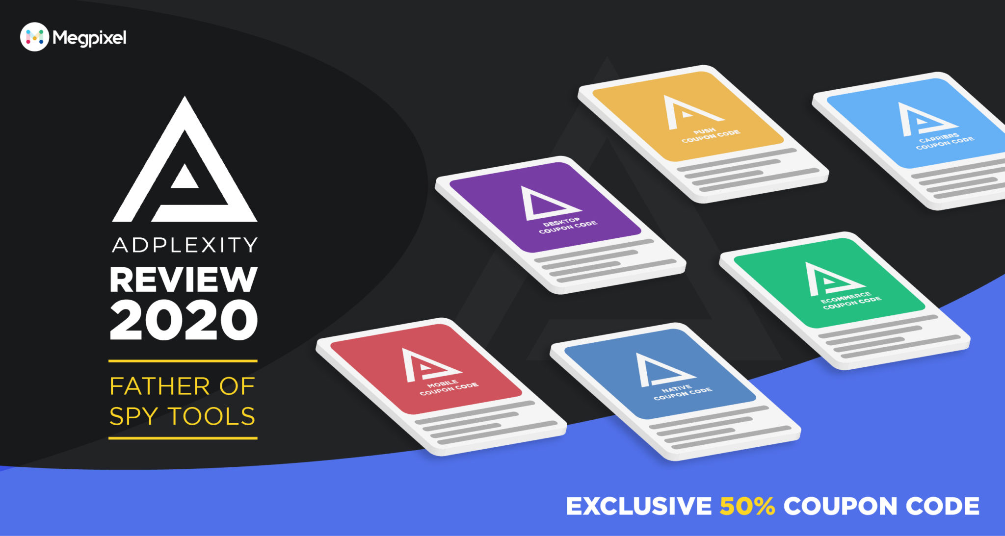 Adplexity Review 2019 - Exclusive 50% Coupon Code + Father of Spy Tools