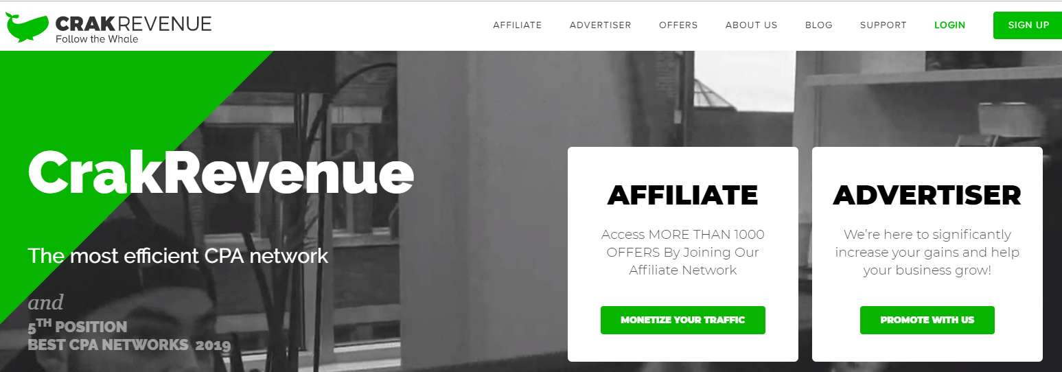 crakrevenue best affiliate network