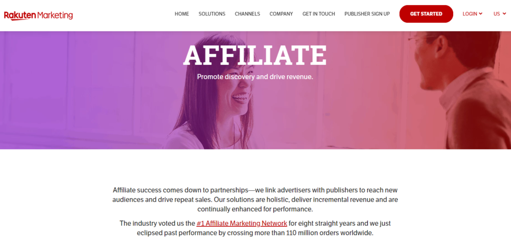 rakuten best affiliate network