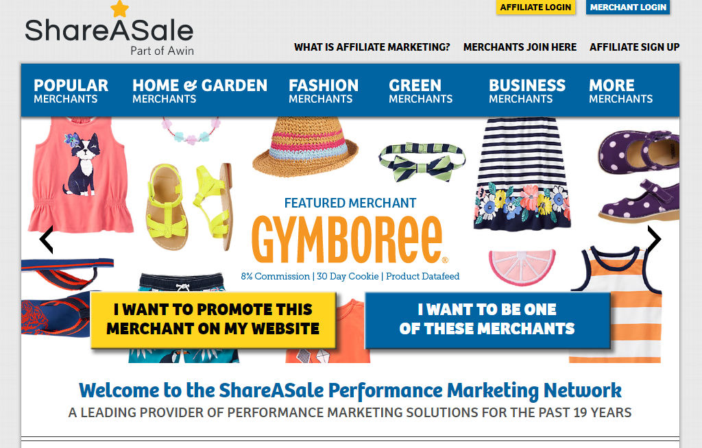 shareasale best affiliate network