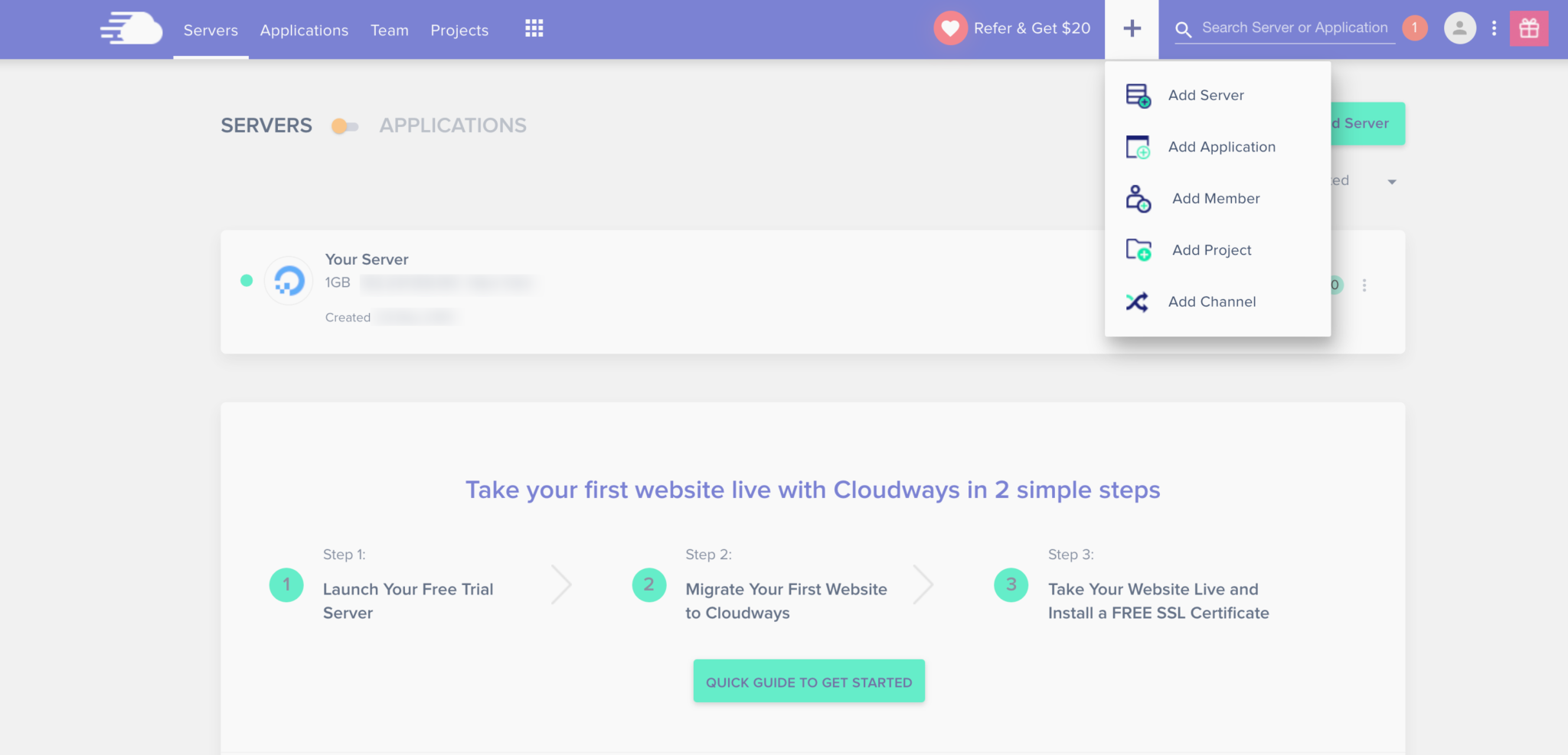 Cloudways Tutorial