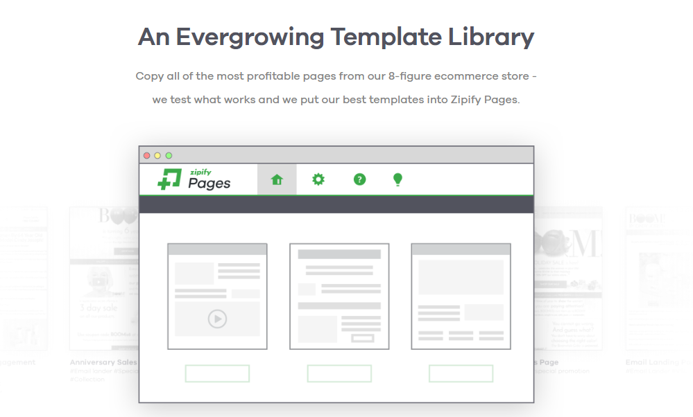 Zipify pages templates