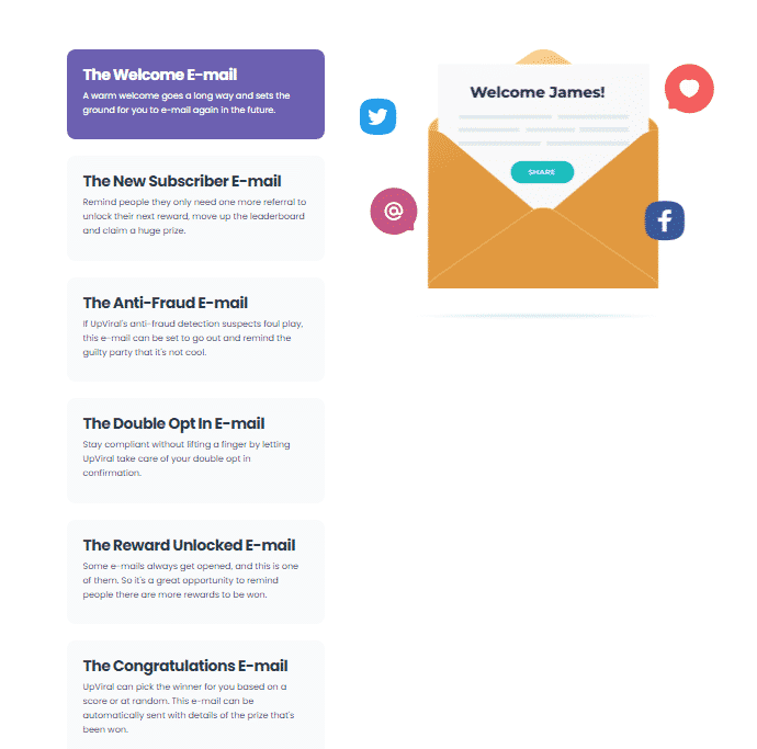 UpViral Email Automation